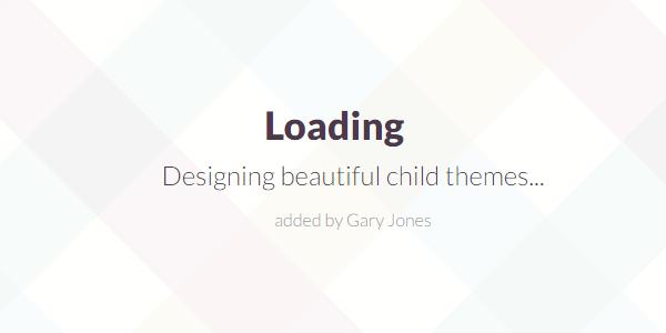 Designing child themes - genesiswp slack quote