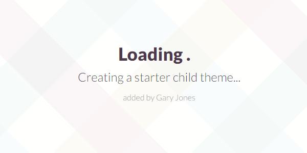 creating a starter theme - genesiswp slack quote
