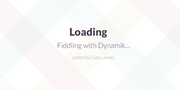 Fiddling with dynamik - genesiswp slack quote