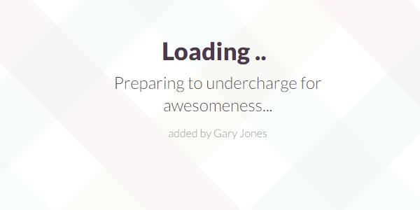Preparing for awesomeness - genesiswp slack quote