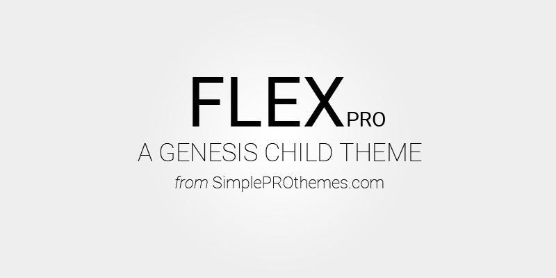 FLEX pro Genesis Theme is now available